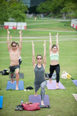 20150502 - Cora Tamar Park Yoga II - 840
