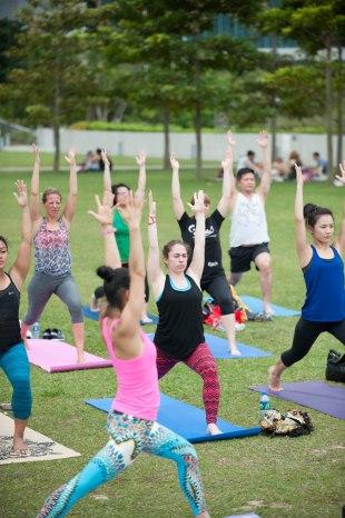 20150502 - Cora Tamar Park Yoga II - 848