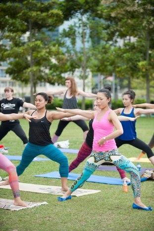 20150502 - Cora Tamar Park Yoga II - 870