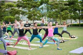 20150502 - Cora Tamar Park Yoga II - 886