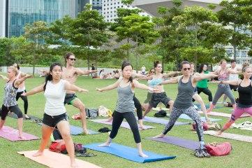 20150502 - Cora Tamar Park Yoga II - 887