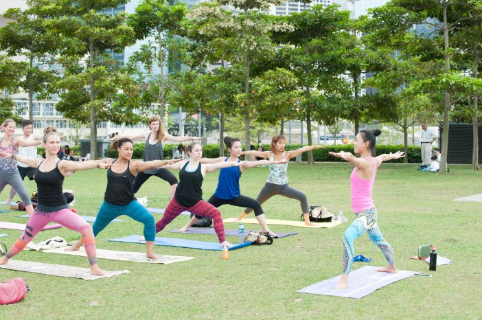 20150502 - Cora Tamar Park Yoga II - 888
