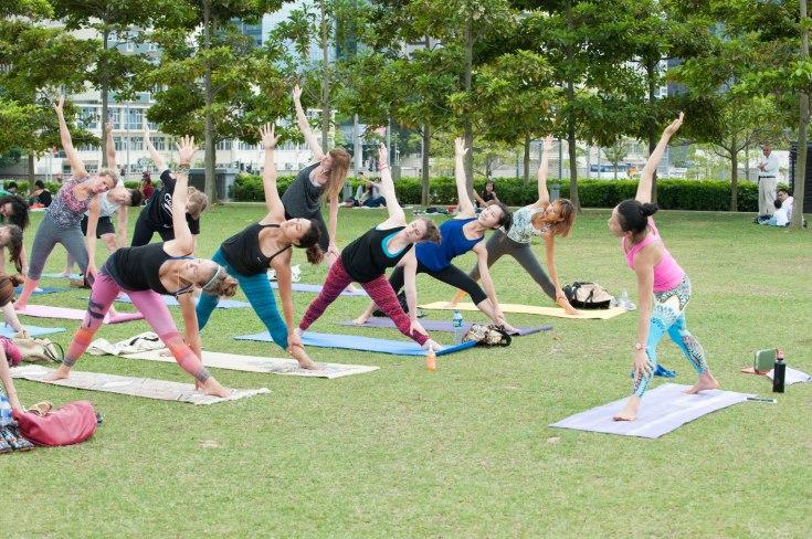 20150502 - Cora Tamar Park Yoga II - 896