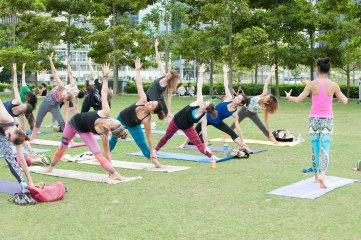 20150502 - Cora Tamar Park Yoga II - 908