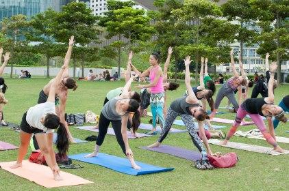 20150502 - Cora Tamar Park Yoga II - 917