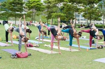 20150502 - Cora Tamar Park Yoga II - 940