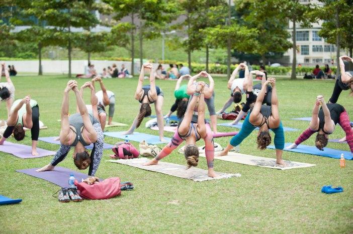 20150502 - Cora Tamar Park Yoga II - 964