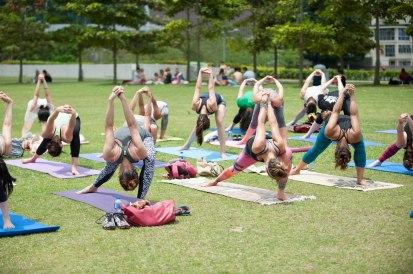 20150502 - Cora Tamar Park Yoga II - 968