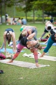 20150502 - Cora Tamar Park Yoga II - 978