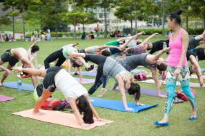 20150502 - Cora Tamar Park Yoga II - 986