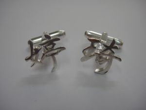ChineseCharacterCufflinks