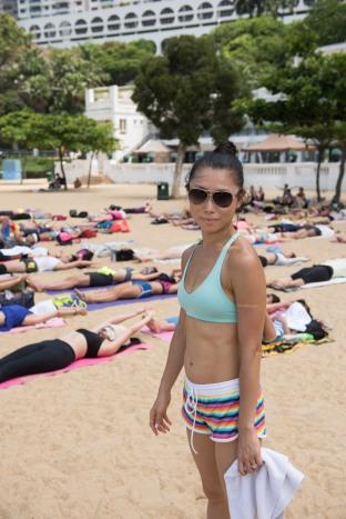 20150705 - Sukigi Swin Repulse Bay Yoga - 1135